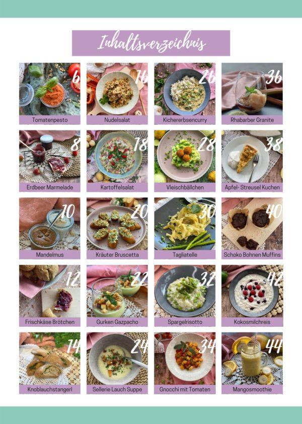 Inhaltsverzeichnis Vegan 2
